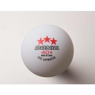 Donic | Wettkampfball Donic 40+ *** 120 Stück weiß