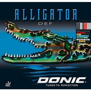 Donic | Alligator DEF rot 0,5mm