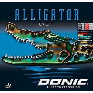 Donic | Alligator DEF schwarz 1,0mm
