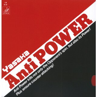 Yasaka | Anti Power rot 2,0mm