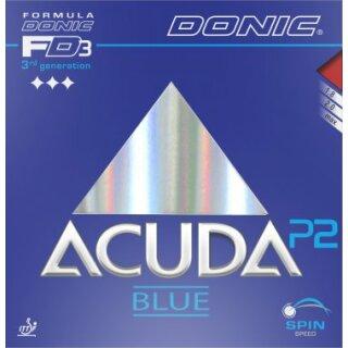 Donic | Acuda Blue P2 schwarz 2,0mm