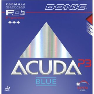 Donic   Acuda Blue P3 schwarz 2,0mm