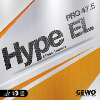 Gewo   Hype EL Pro 47.5 schwarz 1,9mm