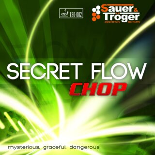 Sauer & Tröger | Secret Flow Chop schwarz 1,0