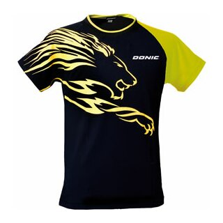 Donic   T-Shirt Lion   schwarz/gelb