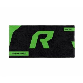 Andro | Handtuch Rasanter | schwarz/grün/weiß