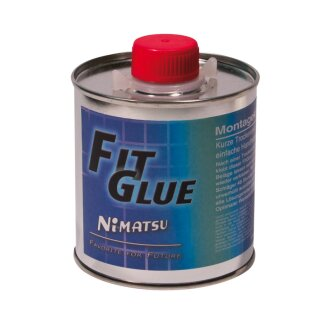 Nimatsu | Montagekleber Fit Glue Pinseldose | 250 ml
