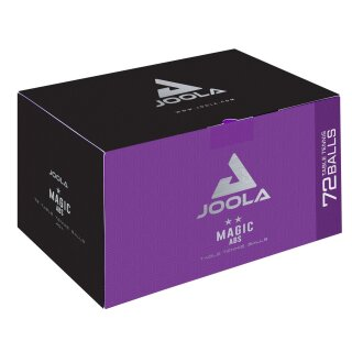 Joola | Magic ABS 40+ | 72 Stück weiß