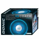 Donic | Trainingsball Coach P40+ ** Cell-Free | 120...