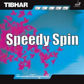Tibhar | Speedy Spin schwarz 1,0mm