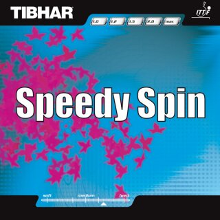 Tibhar | Speedy Spin schwarz 1,9mm