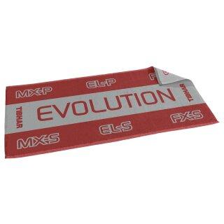 Tibhar | Handtuch Evolution rot/grau