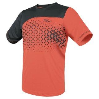 Tibhar   T-Shirt Game   neonorange/grau