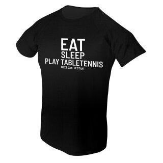 Spin und Speed | T-Shirt Eat | schwarz