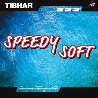 Tibhar | Speedy Soft  schwarz 1,0mm