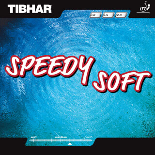 Tibhar | Speedy Soft  schwarz 1,5mm