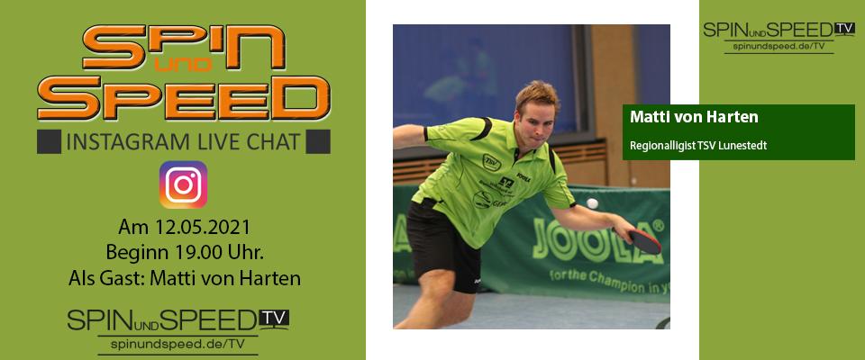 Instagram Live Chat mit Matti von Harten